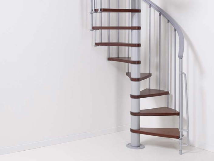 ago kit spiral staircase is a space saving option at a low cost