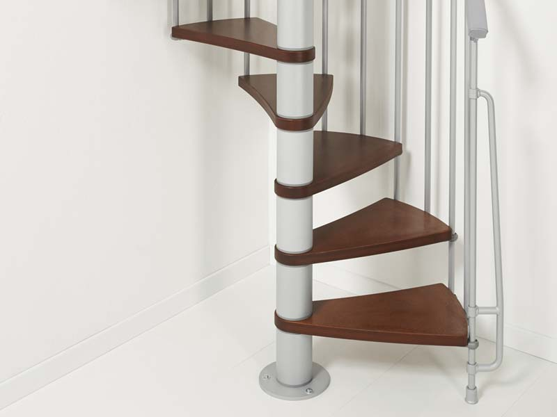 ago kit spiral staircase is a space saving option at a low