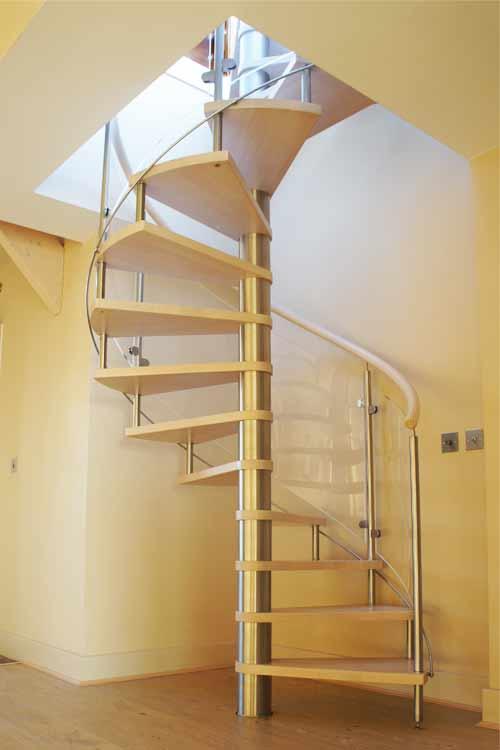 Beech-Spiral-Staircase-Gosport
