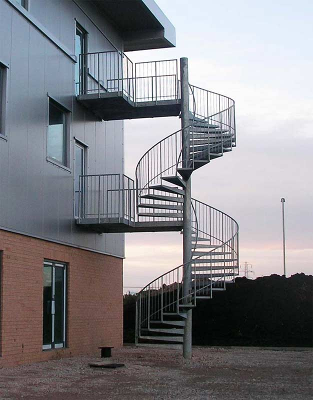 Steel Spiral Staircase Blackpool Spiral Staircases