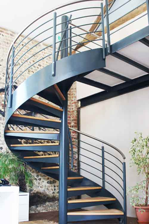 Commercial Spiral Stair Wickham