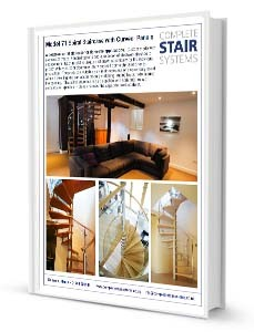 Model 71 Spiral Staircase Product Sheet - Curved Panels