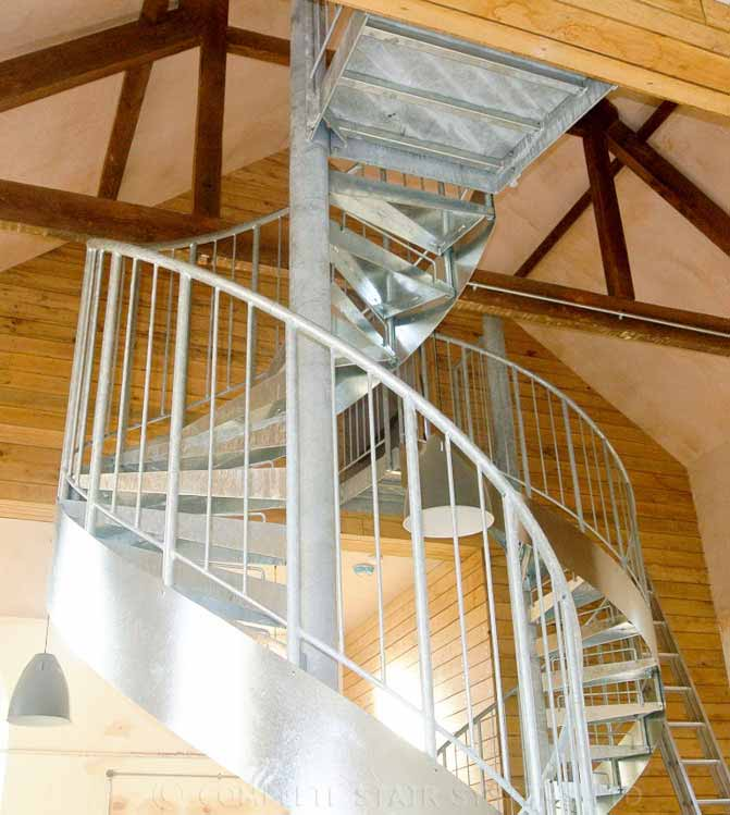 Steel Spiral Staircase Blandford Forum Spiral Staircases
