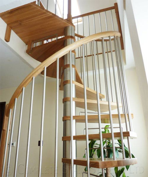 spiral staircase chatham was a loft conversion spiral with
