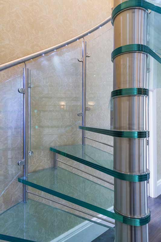 Glass Spiral Staircase Cheshire Spiral Staircases