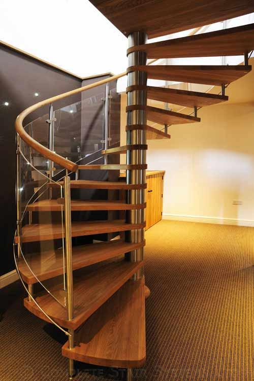 Oak Spiral Staircase Nottingham