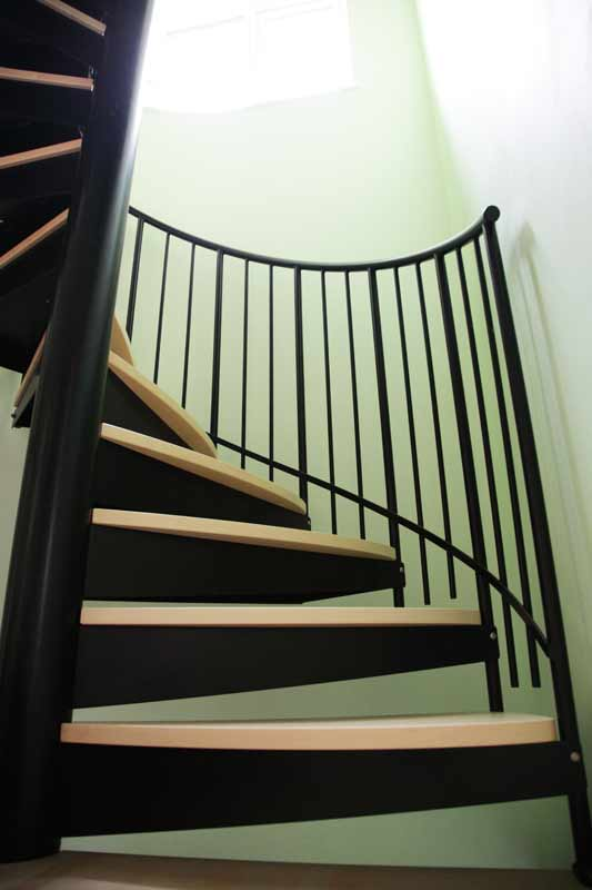 Spiral Staircase Oxford Was A Project Featuring A Double