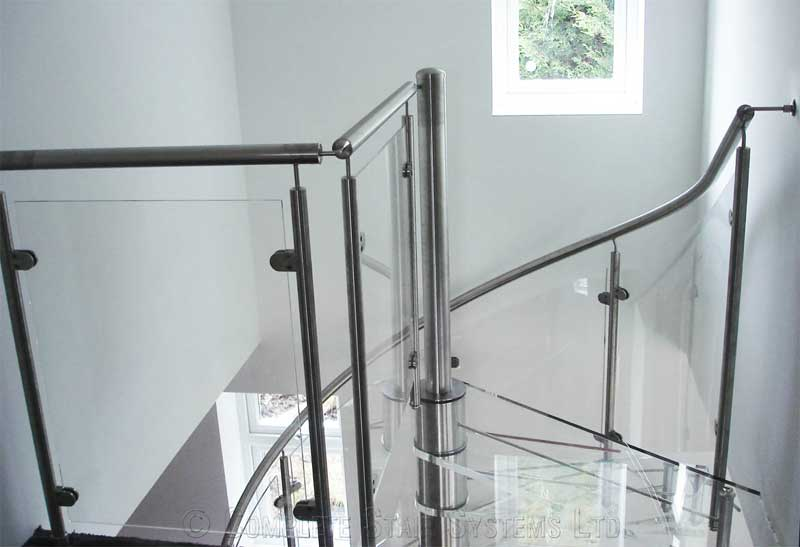 Acrylic Spiral Staircase Romsey Spiral Staircases