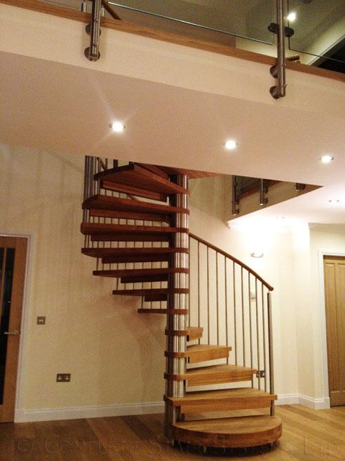 Spiral Staircase Scotland Was A Large Spiral In Aberdeen