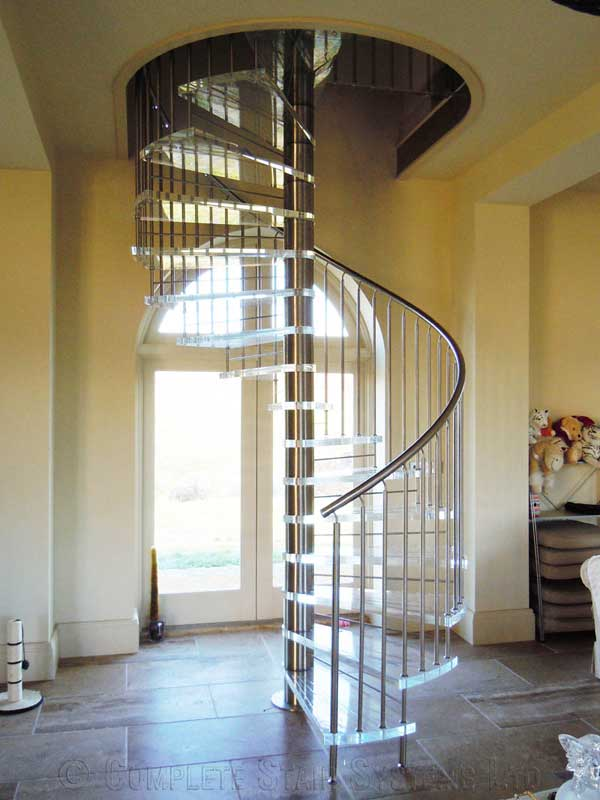 Acrylic Spiral Staircase Nottingham Spiral Staircases