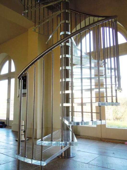 Acrylic Spiral Staircase
