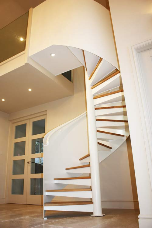 Staircase Regulations Uk >> Oak Spiral Staircase Petersfield - Spiral Staircases