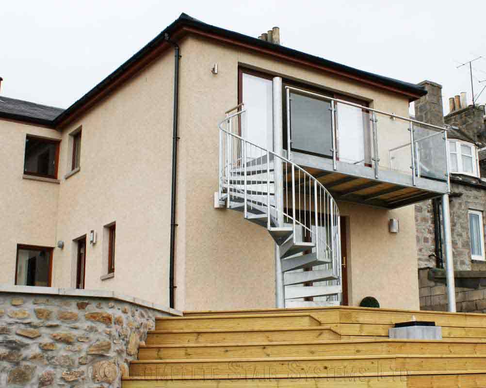 Steel Spiral Staircase Aberdeen