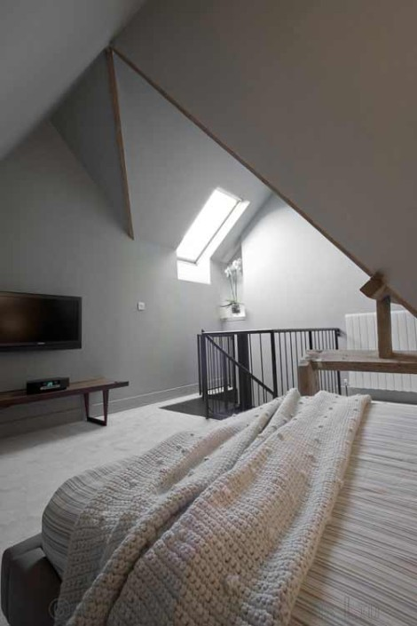 Spiral Stair Bristol Was A Loft Conversion Project With A