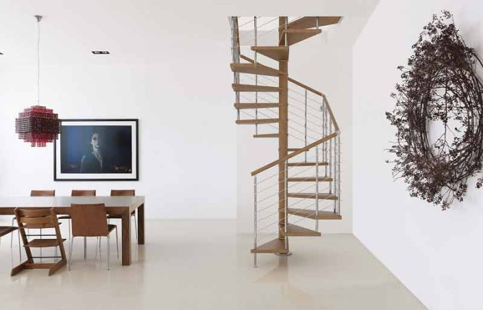 Genius 050 Spiral Staircase