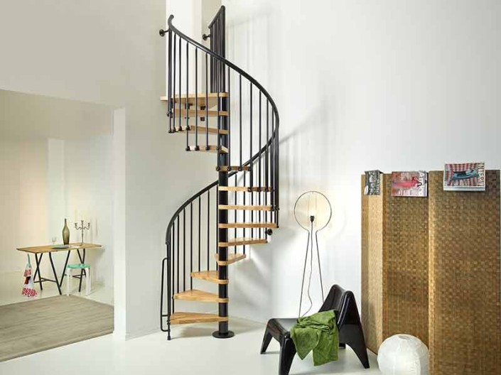 Oak 70 Spiral Stair