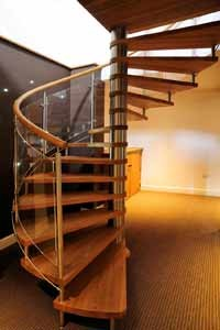 Oak Spiral Staircases