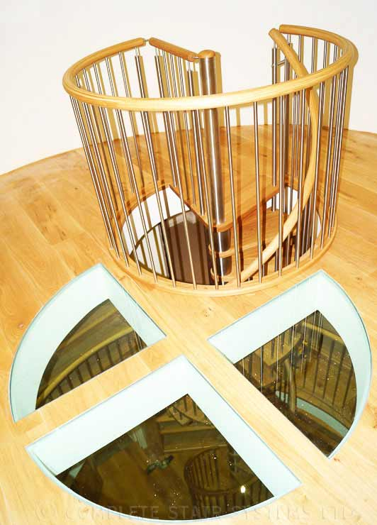 Oak Spiral Staircase East Sussex Spiral Staircases