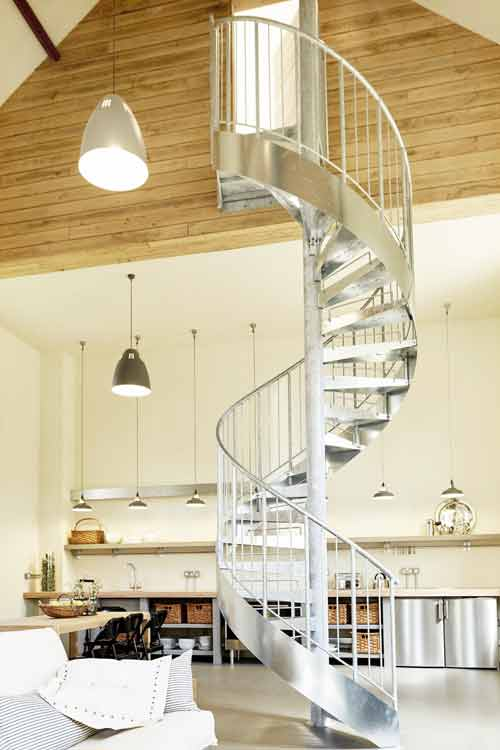 Staircase Regulations Uk >> Steel Spiral Staircase Blandford Forum - Spiral Staircases