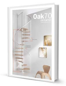Spiral Stair Oak 70